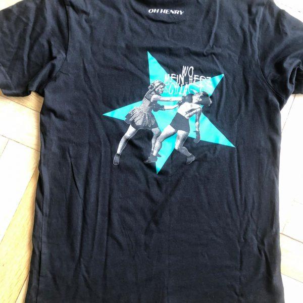 Boys - LP Shirt, Schwarz, Rückseite