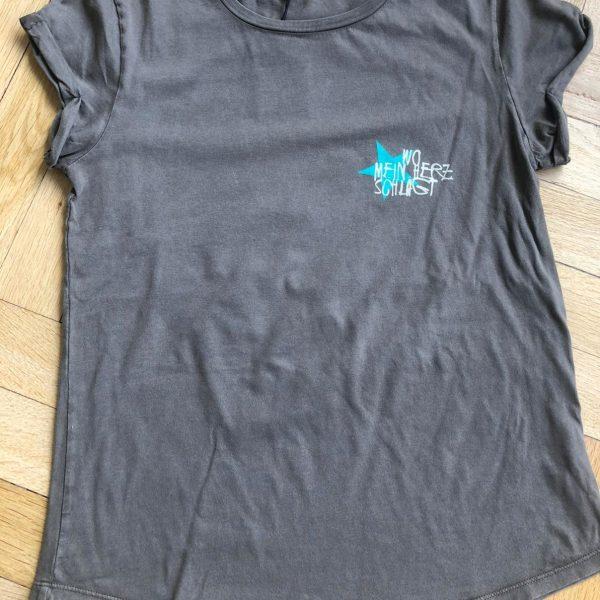 Girls - LP Shirt, Grau, vorne